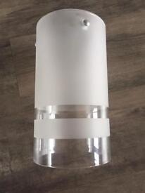 Glass light shade