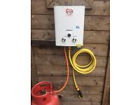 Horse Dog Wash Shower Gas LPG Heater Boiler