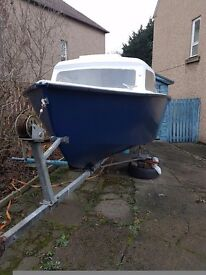 15foot boat engine and trailer