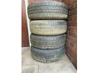 Vauxhall astra set of wheel