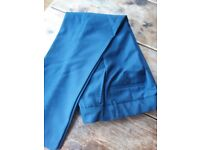 Boys navy blue formal trousers size 10, M&S