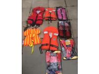life jacket marine pool and some outhers