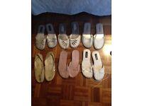 Ladies size 6 flat shoes/pumps for sale