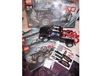 LEGO TECHNIC PICKUP TRUCK.9395