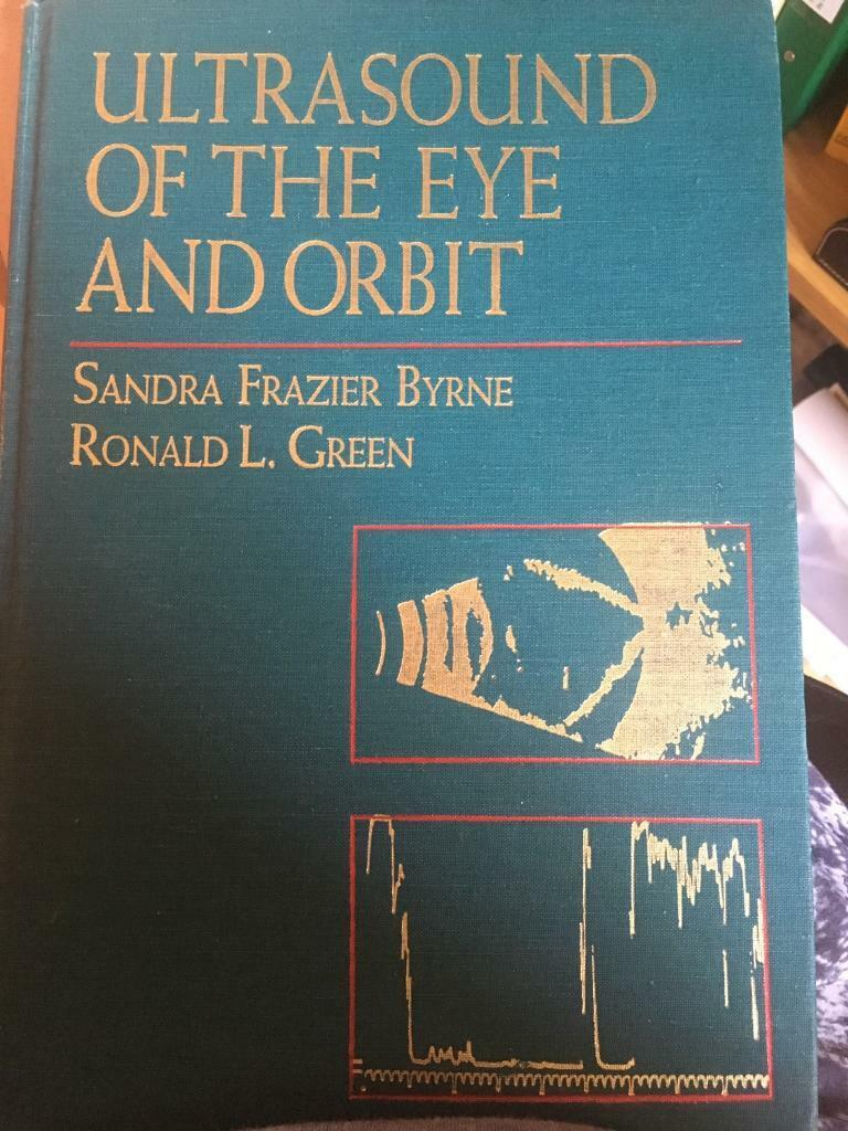 Medical Book. Original Hardback: ultrasound of the eye & orbit