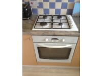 Electrolux Electric Oven, Gas Hob and Integrated Extractor Fan