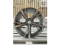 """*FINANCE AVAILABLE* 19"""" AUDI 2020 RS6 STYLE ALLOY WHEELS A4 A5 A6 A7 A8 S4 S5 S6 Q3 Q5 VW"""