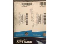 2x VIP Paloma Faith Tickets Edinburgh