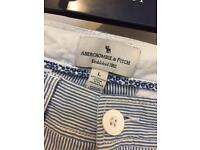 Abercrombie & Fitch ladies / girls cropped trousers shorts