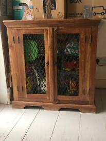 Real wood cabinet/ toy chest