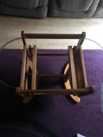Mothercare swing Moses stand