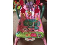Fisher Price baby to toddler rocking and vibrating musical chair
