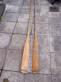 Wooden Boat Rowing Oars for Sale