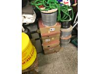 NEW ROLLS ELECTRIC CABLE 2.5M T+E 100M ROLLS
