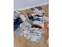 Baby Boys Bundle 0-3 Month (Next, George, F&f, Nutmeg)