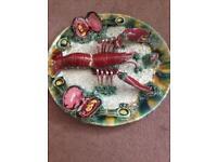 Antique Portuguese plate