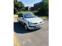 BIG BARGAIN!!! RENAULT CLIO 1.2 //2005//81K MILEAGE// WITH LONG MOT// 3 Doors