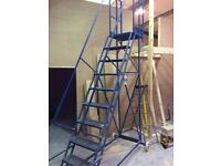 Warehouse moveable steps 2.7m