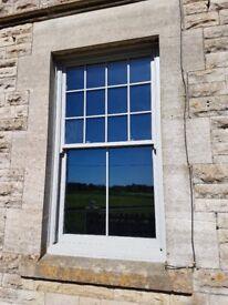 Made to measure sliding sash windows hardwood or softwood