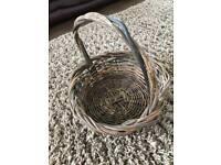 Beautiful Large Vintage Wicker Basket