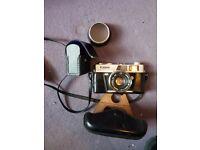 vintage cannon camera