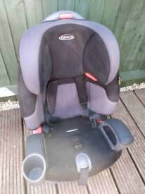 Car seat no longer used