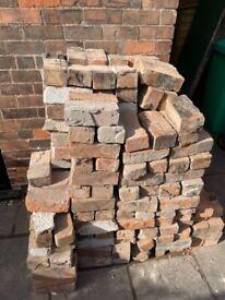 Bricks - approx 750 reclaimed imperial bricks