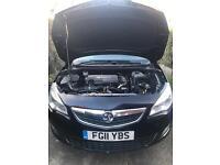 Vauxhall Astra 1.7 cdti - 2011- diesel -£30 a year tax - cheap car- quick sale-