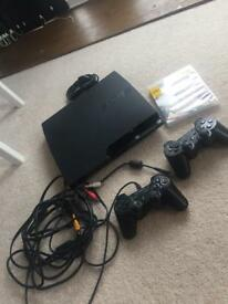 PS3 120gb slim. Including 1 game