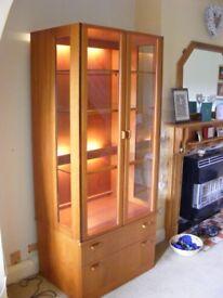 G-Plan 2 Door Display Unit