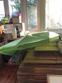 Ikea Lova Leaf Green Canopy x 2