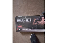 Pro source multi grip pull up bar / chin up bar