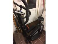 Roger black cross trainer/ exercise bike