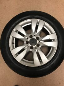4 alloys wheels with tyres 225/55/16