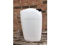 Brand new 25L water container, unopened , ideal for drinking water, caravan, camping, animals