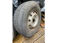 Two van tyres