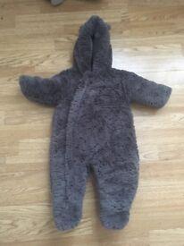 6-9 months mothercare snowsuit