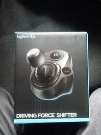 Logitech driving force shifter ( opened but un-used all original packaging and box's)