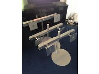 Dual computer screen stands for sale