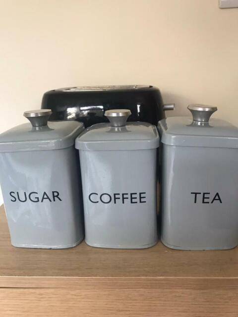 John Lewis Tea Coffee And Sugar Canisters In Southampton Hampshire Gumtree
