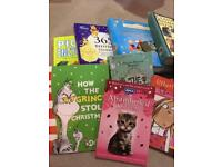 Large selection of girls books for sale £7.00