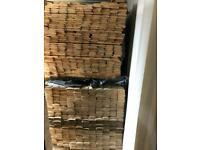 New timber heavy duty log cladding 3.3 metres