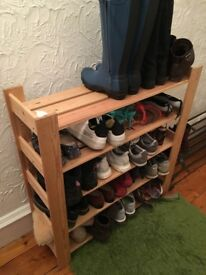 SHOE SHELF 5 LEVELS