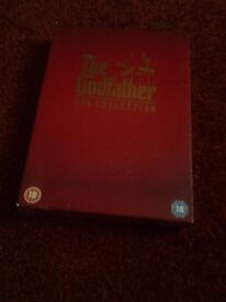 The Godfather DVD Collection boxset for sale.