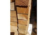 Timber 3x2. 10 lengths at 2400mm long