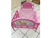 Disney Princess Kids bed with Mattress - Perfect Condition
