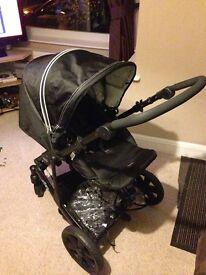 Britax B-Smart 4 pushchair in black