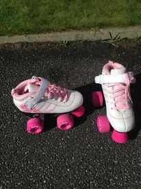 Girls Roller Boots size j11