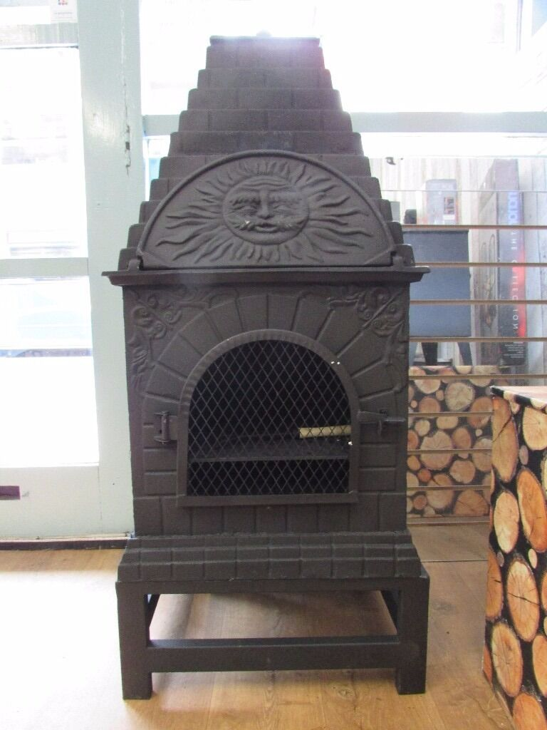 LAST ONE CAST IRON PIZZA OVEN FROM DISPLAY IDEAL XMAS GIFT £199 COLLECT FROM HORWICH