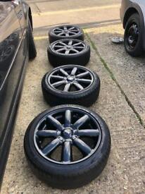 Mini Cooper s Wheels in Black